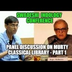 Panel Discussion on Murty Classical Library - Part 1