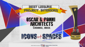 Oscar & Ponni Architects at Icons of Spaces 2016, Singapore